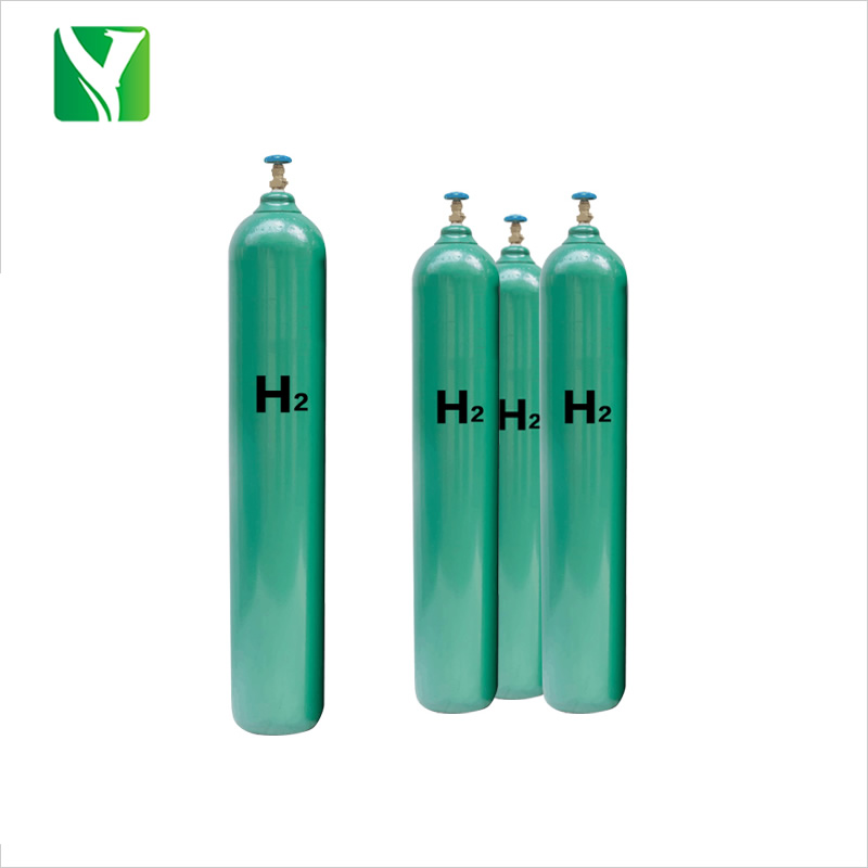 Factory directly supply refillable seamless steel Hydrogen gas cylinders/tanks/bottles with competitive price