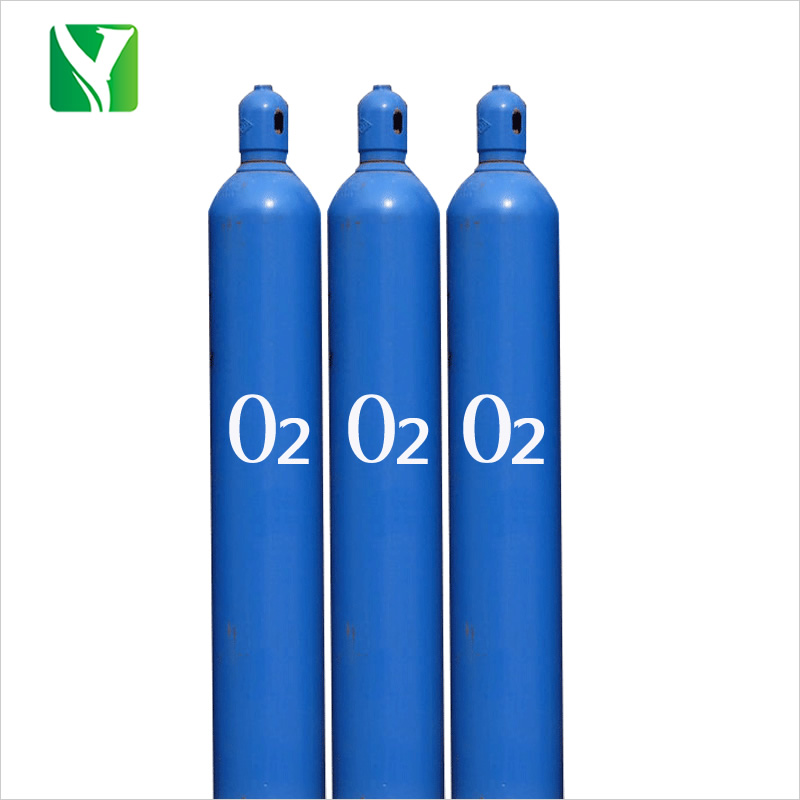 Refillable seamless steel Oxygen cylinder for medical and home use